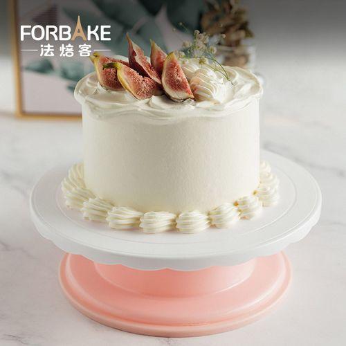 法焙客蛋糕转盘裱花转台生日蛋糕烘焙工具家用奶油