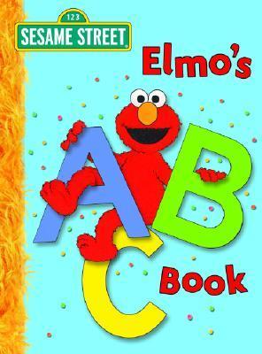 英文原版芝麻街跟阿莫学abc elmo's abc book: sesame