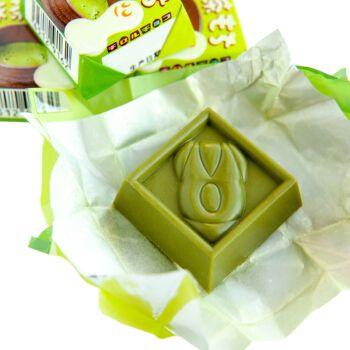 日本tirol松尾夹心抹茶巧克力圣诞节礼物零食(代可可脂) 绿色