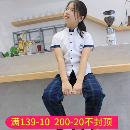 番禺区小学生礼仪服长裤男衬衣番禺校服礼服连衣裙