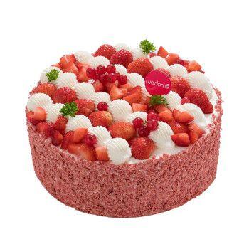 生日蛋糕 同城配送 店送 水果蛋糕 奶油蛋糕 原味蛋糕酸奶提子