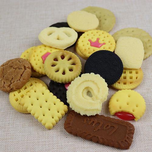 仿真食品 巧克力饼干 奥利奥夹心饼干 幼儿园早教玩具