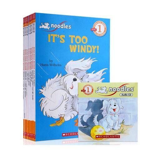 cd)和小狗杜豆儿一起学英语~学乐分级读本系列之小狗杜豆儿