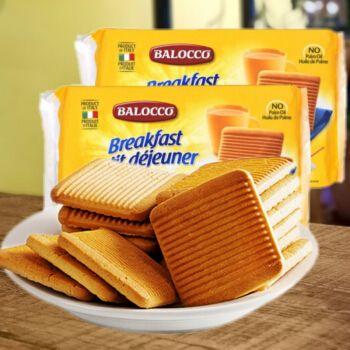 意大利进口balocco百乐可奶油蜂蜜饼干办公室休闲零食