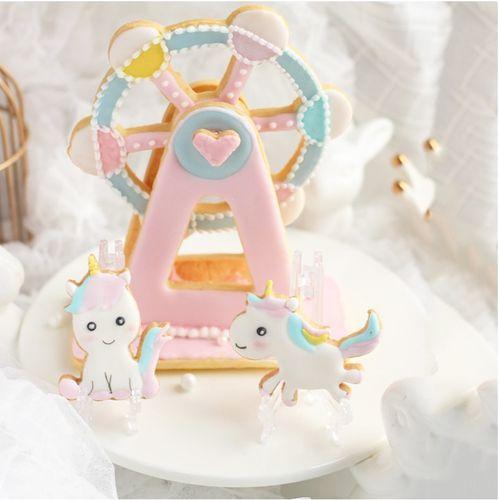 diy烘培模具 3pcs摩天轮 糖霜饼干模具 卡通 蛋糕切模 翻糖蛋糕模