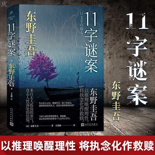 11字谜案 (日)东野圭吾 正版书籍小说畅销书 媲美解忧