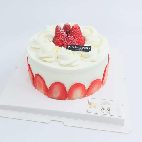 草莓戚风蛋糕k