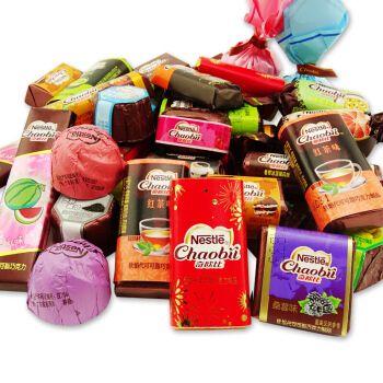 花生巧克力 散装称500g 婚庆零食年货喜糖 (混合味不指定巧克力形状)