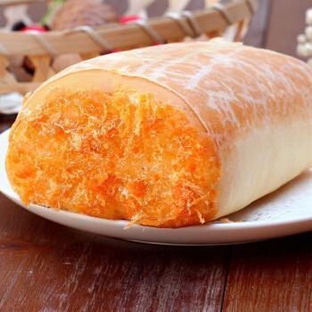 【京喜好物 不好包退】鸡蛋肉松面包奶油夹心蛋皮面包