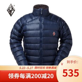 黑冰(black ice) 黑冰羽绒服新款天权男秋冬户外轻便排骨衣700+拒水