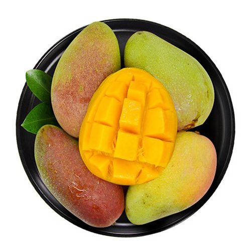 海南贵妃芒芒果新鲜热带水果应当季红金龙甜心芒果