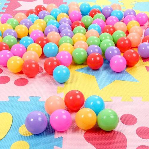 马卡龙海洋球波波球宝宝洗澡儿童玩具玩具球彩色海洋
