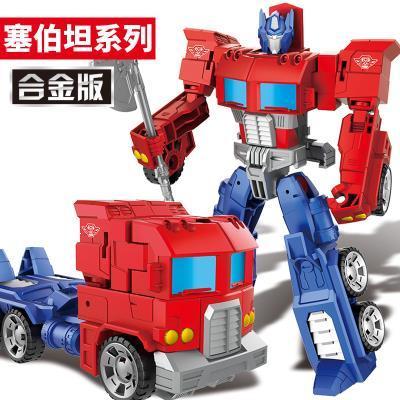 新达011变形金刚5超大擎天柱大黄蜂汽车机器人模型玩具车铠甲勇士