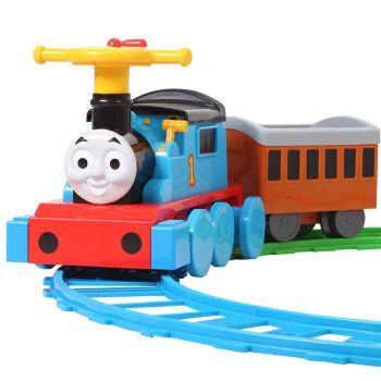 可坐人小火车儿童电动小火车可坐人宝宝轨道车宝宝可坐玩具车 托马斯
