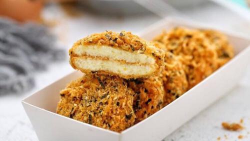 网红纯手工自制肉松小贝海苔沙拉盒子美味伴手礼面包