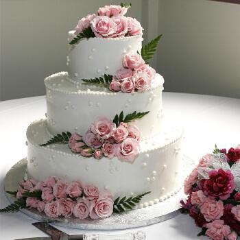 多层生日蛋糕婚礼公司庆典开业鲜花祝寿节当天现做三层多层全国