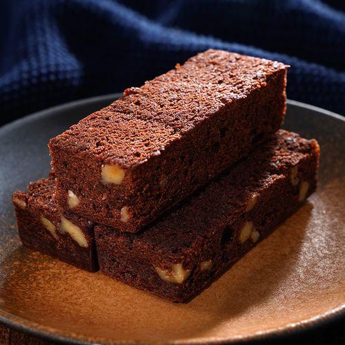 味多美 布朗尼 巧克力蛋糕 西式糕点心甜品早餐下午茶