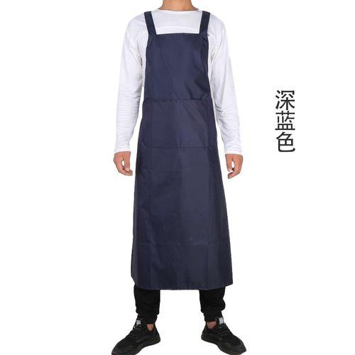 新品 夏季韩版防水布围裙洗衣厨房防水防油大饭巾食品