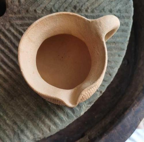 烤茶罐粗陶煮茶干炒茶烘焙茶泡茶公道耐火土窑柴烧手工粗陶公.