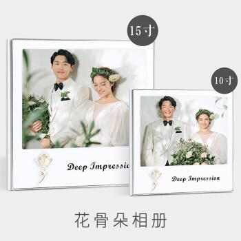 做影楼婚纱照相册制作婚礼欧式高档精修入册定制高端结婚照片打印 花