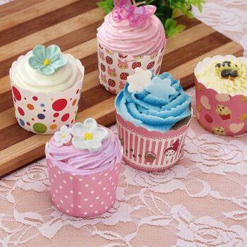 蛋糕纸杯耐高温烘焙马芬杯子烤箱曲奇麦芬蛋糕模具纸杯拼团一次性蛋糕