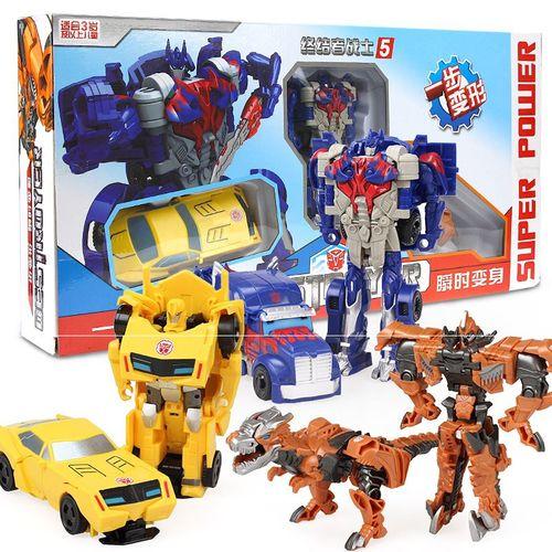 超级卡车变形玩具卡尔组合