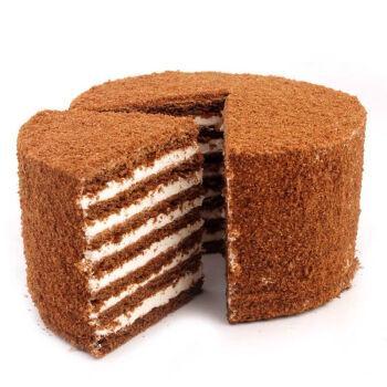 俄罗斯风味提拉米苏6寸400克奶油巧克力芒果榴莲酸奶草莓千层蛋糕1