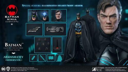 star ace toys 1/6 忍者蝙蝠侠 batman 现代装备版 sa