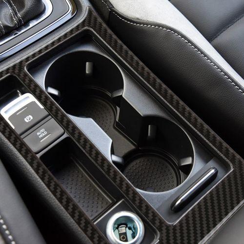 适用于大众高尔夫7改装内饰碳纤维空调装饰贴高七专用导航面板.