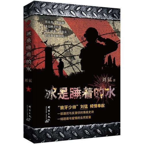 现货正版 冰是睡着的水刘猛 小说群言出版社