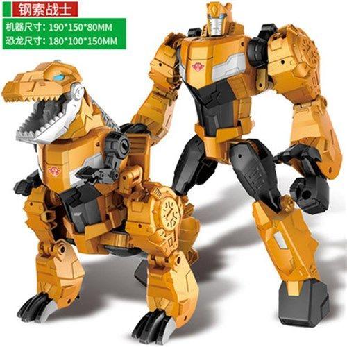 变形金刚擎天柱大黄蜂钢索酷垒拼积木机器人公仔模型玩具组合合体