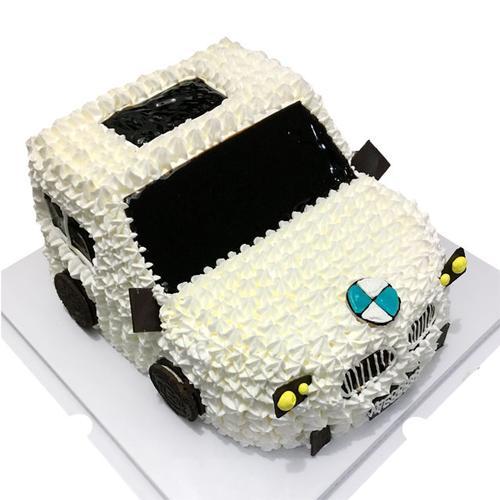 dt66 宝马汽车蛋糕 创意