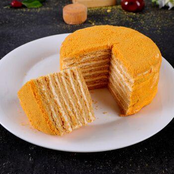 【第二份0元】俄罗斯风味提拉米苏千层蛋糕400g 芒果