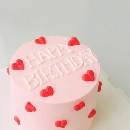 【小心心】4英寸小蛋糕