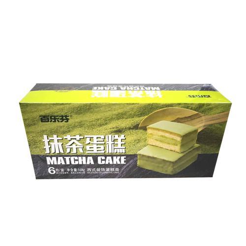 百乐芬168g抹茶味蛋糕