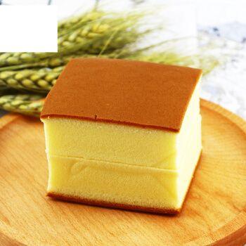 曼悦芙蛋糕手工原味纯蛋糕整箱零食营养早餐休闲糕点长崎蛋糕 500g