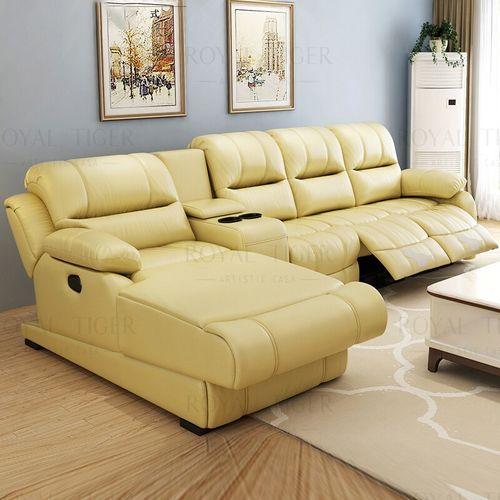 royal tiger御虎 功能沙发头层牛皮 电动智能转角沙发