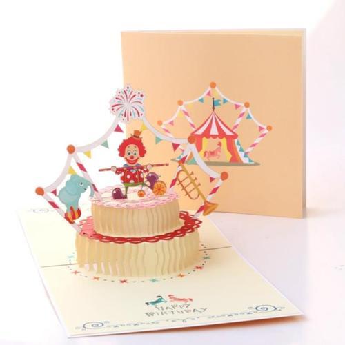 贺卡生日快乐送成长商务礼创十岁文艺爱情妈妈礼品