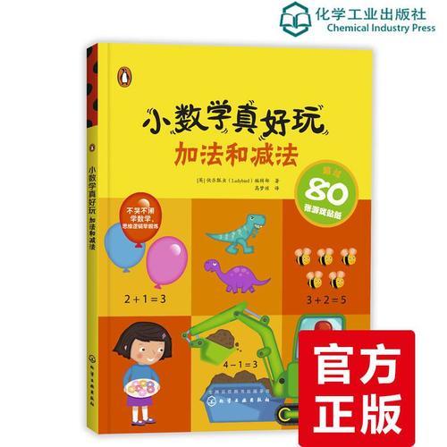 正版 小数学真好玩 加法和减法 快乐瓢虫 趣味数学游戏开发智力书籍