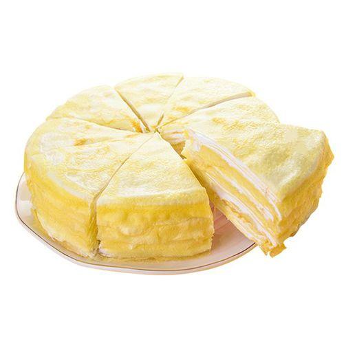 榴芒一刻 榴莲千层蛋糕/水果蛋糕/甜点 8英寸甜软绵密