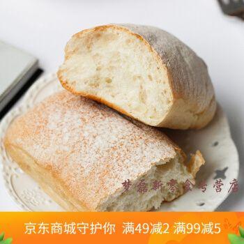 帕尼尼面包胚 帕尼尼面包胚恰巴塔面包早餐面包100g 帕尼尼包胚100gx6