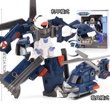 托宝兄弟变形汽车人金刚机甲泰坦机器人战士声光玩具七合体xyz第四季