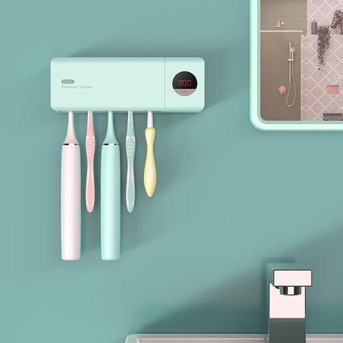 uvc计时牙刷消毒器,晾干,收纳,祛菌全搞定,刷牙才护牙