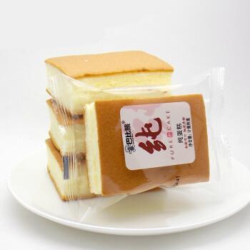巴比熊纯蛋糕4斤整箱装香甜松软不加水纯蛋面早餐糕点